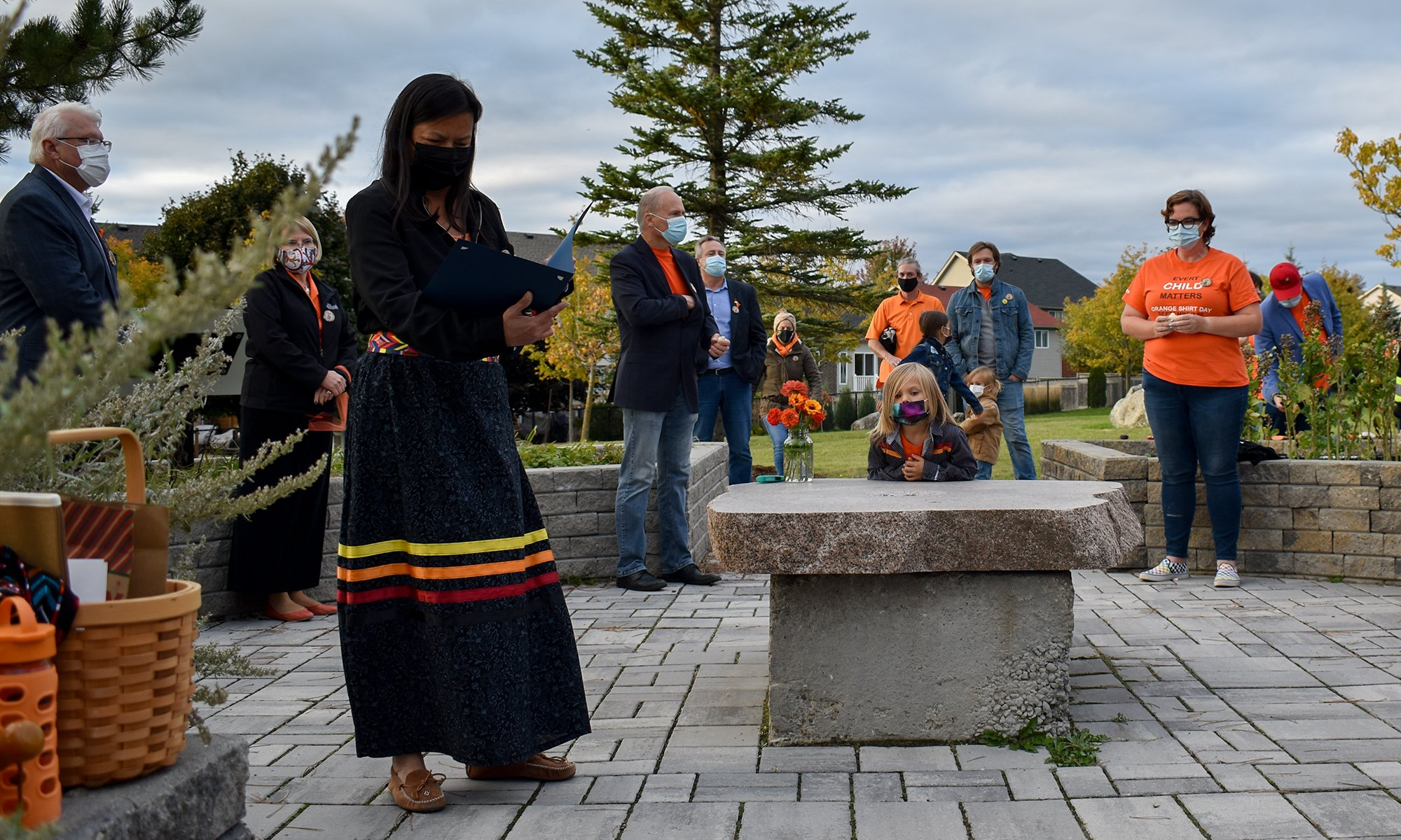 Indigenous vigil Orangeville 06